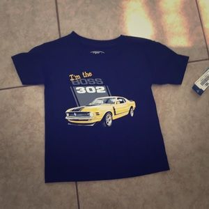 Other - Ford Black Kids Boys Im The Boss 302 TShirt